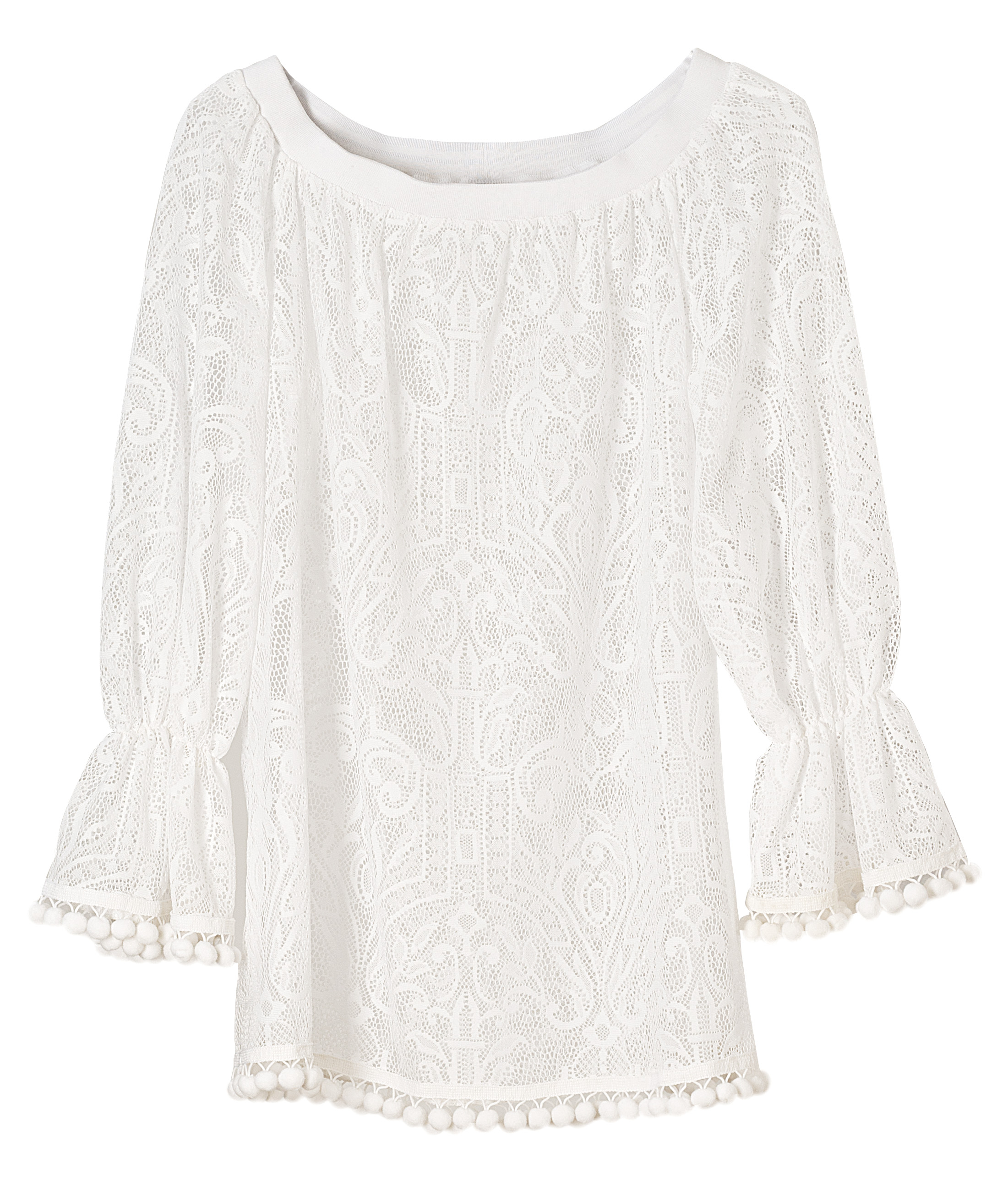 OffShoulder Pizzo Bianco-7105